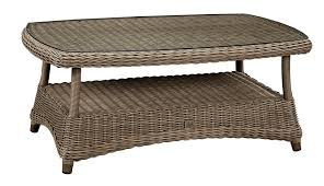 Windward Hannah Patio Furniture by Outdoor Wicker Occasional Tables And Such Redbarn Furniture