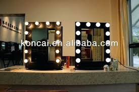 wall vanity mirror with lights mounted for modern household