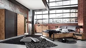lifestyle4living schlafzimmer komplettset im industrial