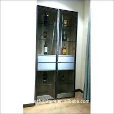 Corner Wine Cabinet Bar Alcohol Furniture Liquor Locked Custom Cabinets