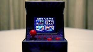 Mini Arcade Cabinet Kit Uk by Mini Arcade Machine With 240 Games Youtube