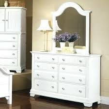 white dresser with mirror designlee me