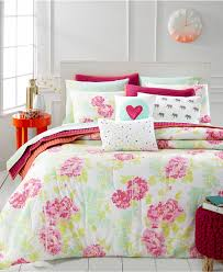 Macys Twin Headboards by Martha Stewart Whim Collection Pretty In Poppy Bedding Collection