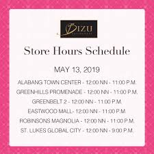 To Our Valued Guests, Please Be Guided... - Bizu Patisserie ...