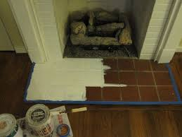 how to paint a fireplace hearth time homeowner