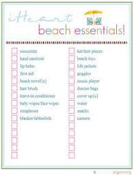 Beach Essentials For Baby Kids