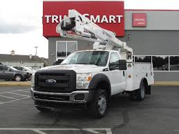 2011 FORD F550 SD BUCKET BOOM TRUCK FOR SALE #11068