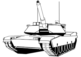 Click To See Printable Version Of M1 Abrams Tank Coloring Page