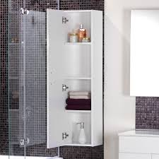 White Bathroom Wall Cabinets With Glass Doors by Bathroom Bathroom Corner Storage Cabinets Decorating Modern