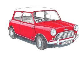 Mini Cooper 1275 Red
