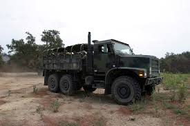 100 7 Ton Truck US Marine Corps 1ST Force Service Support Group Marines Ride