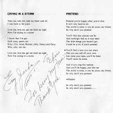 IKE PERRY LYRICS Craig Moerer Records By Mail