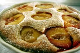 This is a German plum cake Traditional German cakes kuchen = cake are either made with a batter like this one or with yeast