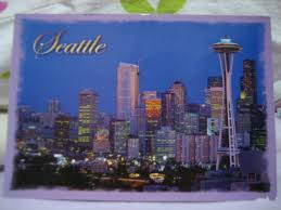 100 Beautiful Seattle Pictures Maple Leaf Postcard