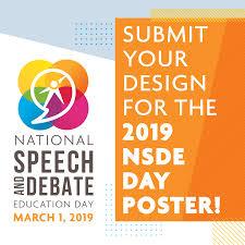 Poster Design Contest Rules 2019 National Speech Debate Association