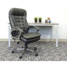 Walmart Swivel Chair Hunting by Boss Office Products Black High Back Executive Chair Walmart Com