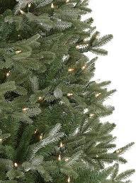 Fraser Fir Artificial Christmas Tree Sale by Fraser Fir Artificial Narrow Christmas Tree From Balsam Hill