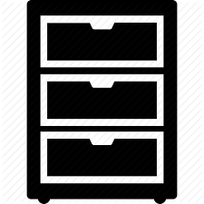 icon bureau bureau cabinet chest drawer drawers filing cabinet icon icon