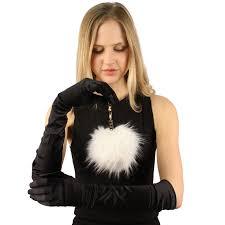 cc faux fur pom pom furry ball rose gold tone handbags bag key