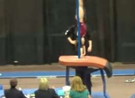 the front handspring vault this cgm knows