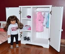 Wardrobes American Girl Doll Clothes Armoire American Girl Doll