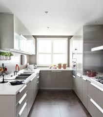 Narrow Kitchen Ideas Pinterest by Best 25 Small U Shaped Kitchens Ideas On Pinterest U Shaped