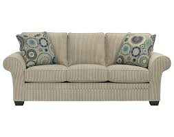 amazon com broyhill zachary sofa off white beige kitchen dining