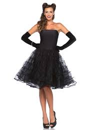 Adult 50s Rockabilly Swing Dress VIEW FULL IMAGE
