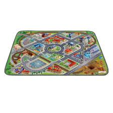 tapis de jeux voitures voitures garages et tapis de jeux routiers oxybul eveil jeux