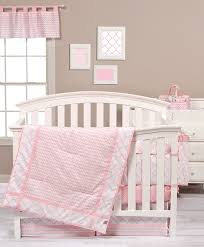 Amazon Trend Lab Pink Sky 3 Piece Crib Bedding Set Baby