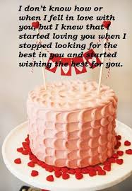 Happy Birthday Cake Wishes Message For Lover