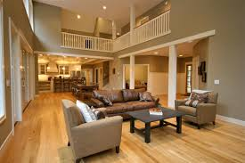 the wall color paired with the light oak floors do you
