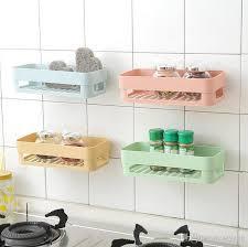 großhandel 2 farben nahtlose paste regal nordic toiletten badezimmer regal wiederverwendbare racks hängende lager inhaber toilettenartikel lagerregal