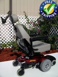 jazzy select power chair attendant control used wheelchairs