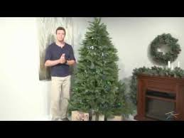 Nordic Fir Artificial Christmas Tree 6ft by 7 5 Ft Multi Colored Pre Lit Dunhill Fir Hinged Tree Product