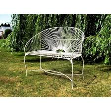Ebay Patio Furniture Uk by Guidelines To Clean And Care For Metal Garden Bench Front Yard