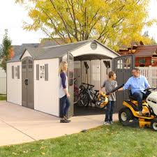 Sams Club Vinyl Outdoor Storage Sheds by 20 X 8 Outdoor Storage Shed 2 Windows
