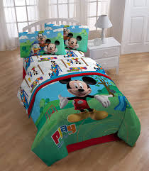 amazon com disney mickey mouse club house play twin comforter