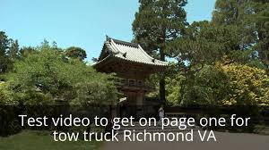 100 Tow Truck Richmond Va Tow Truck VA YouTube