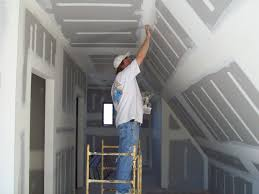 Hanging Drywall On Ceiling Tips by Drywall Installation How To Build A House