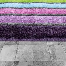 badematte kurzflor teppich für badezimmer mit streifen design 3 d look in bunt größe 60x100 cm
