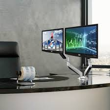 dual monitor stands and desk mounts reviews