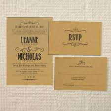 Rustic Wedding Invitation Templates And Decorative Layout Ideas To Create Your Card 2