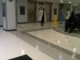 Terrazzo Floor Cleaning Tips by Brookedale Medical Center Terrazzo Tile Logo Hospital Floor