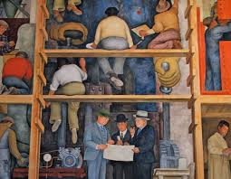 the of a fresco by diego rivera in san francisco