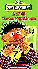 Elеgаnt 6 Sesame Vhs Elmocize 123 Count with Me