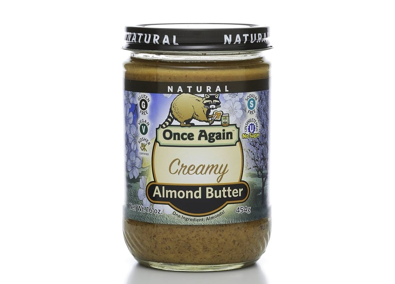 Once Again Creamy Almond Butter - 470ml