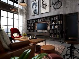 interior design of industrial style town house mr terry