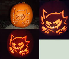 Easy Pokemon Pumpkin Carving Patterns by Pokemon Pumpkin Gengar Halloween Decorations With New Orleans