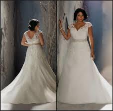 plus size lace a line wedding dresses naf dresses